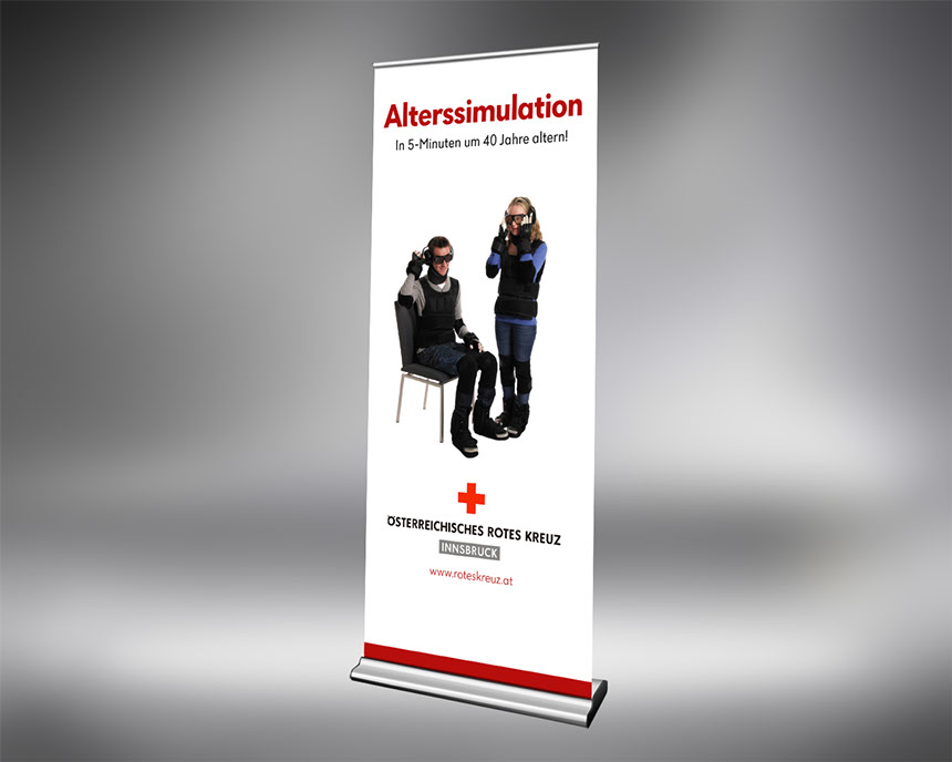 rotes kreuz roll up alterssimulation